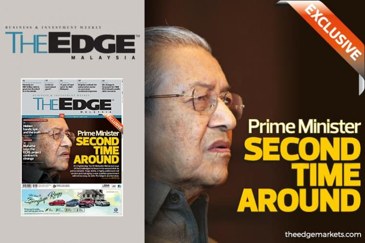 Dr Mahathir : Second stint as Malaysia PM 'frightening, a much more difficult task'