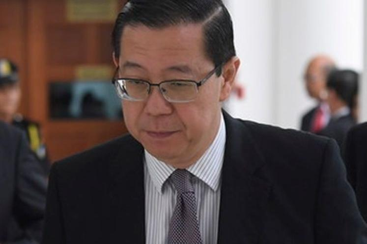 Police to record Lim Guan Eng's statement on missing GST refund money