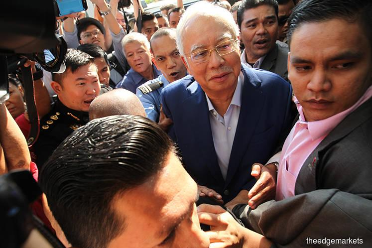 Najib arrives at MACC for questioning