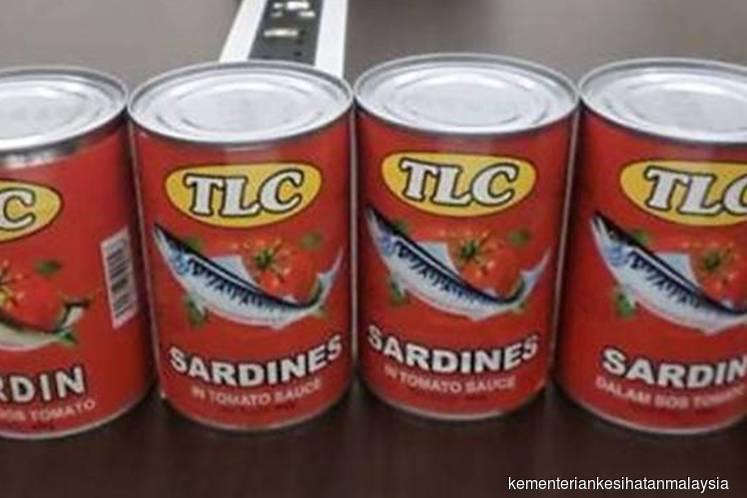 Malaysia recalls two products of China tinned sardines found to contain worms