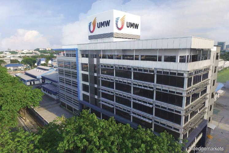 UMW shares rise 4.9% to highest level in 12 weeks