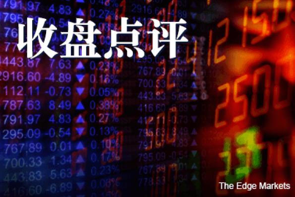 跟随区域股市 马股连续两日收低