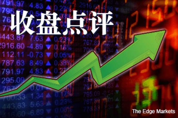中国股市上涨 逢低买盘推动 马股闭市走升 令吉继走贬