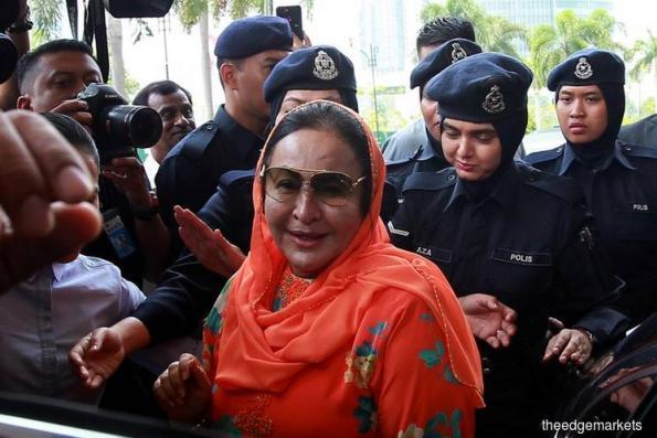 Rosmah a character in Singaporean satire skit