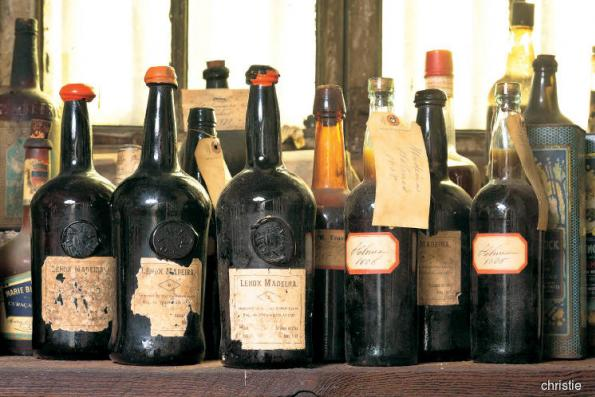 Here's to a 172-year-old wine!
