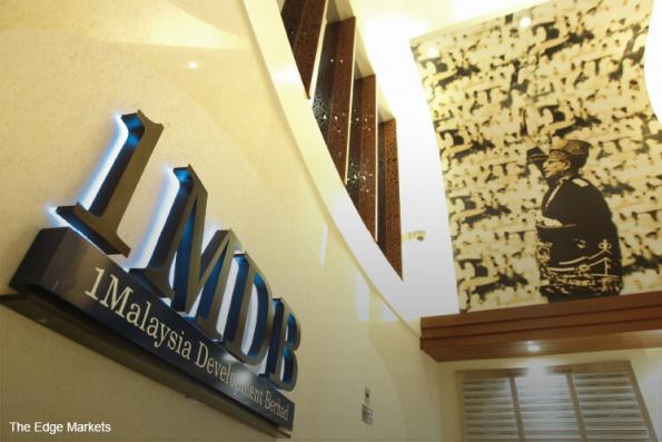 '1MDB can only settle debts with govt help'
