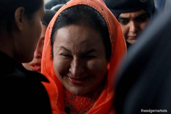 Rosmah posts RM2m bail