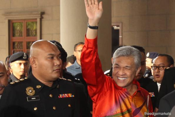 Zahid claims trial for 45 charges