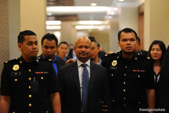 Arul Kanda claims trial to 1MDB final audit report alteration charge