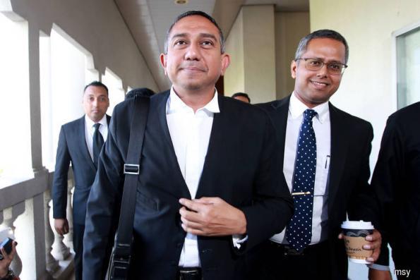 被控洗钱1500万 Hafarizam要求审讯