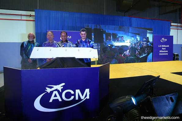 ACM targets up to US$65m in revenue, maintains positive industry outlook