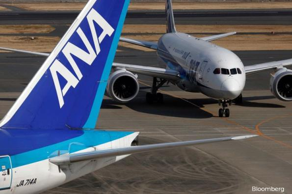 Japan's ANA 1Q profit rises 80% on international routes, low-cost arm Peach