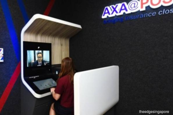 AXA Insurance and SingPost launch industry's first remote insurance advisory service