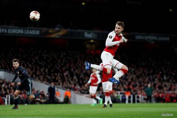 Arsenal, Atletico close in on Europa League semis