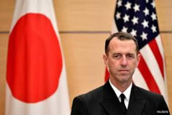 U.S. Navy chief does not rule out sending aircraft carrier through Taiwan Strait
