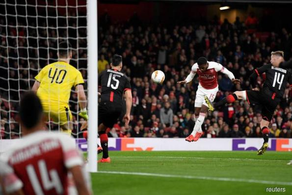 Arsenal join Chelsea in Europa quarters, Inter go out
