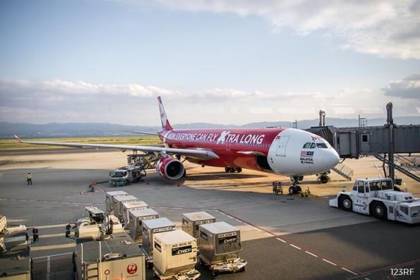 AirAsia X descends after co says 3Q net loss at RM43m