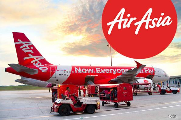 TA Securities downgrades AirAsia to sell; price target RM3.20