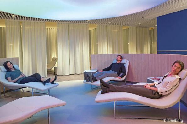 New airport lounges to fight jet lag