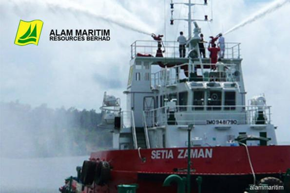 Alam Maritim active, up 4.54% on bagging RM40m contract