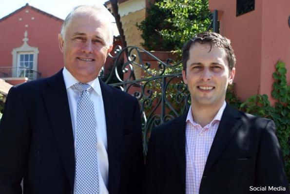 Son of Australia PM Turnbull says he exposed bank's alleged misconduct over Malaysia's 1MDB