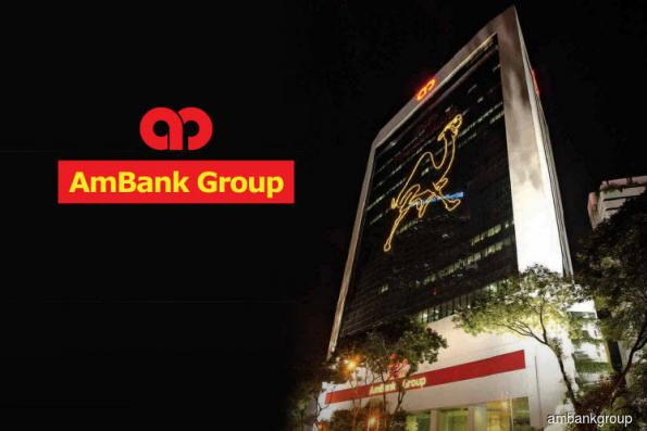 AMMB 2Q net profit up at RM348m, pays 5 sen dividend