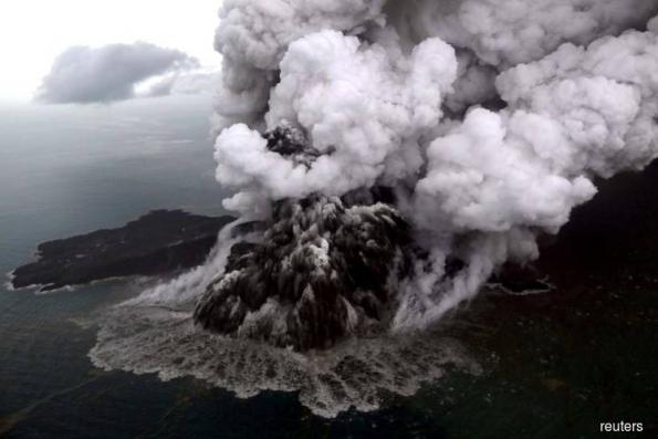 Indonesia orders flights to steer clear of erupting Anak Krakatau volcano
