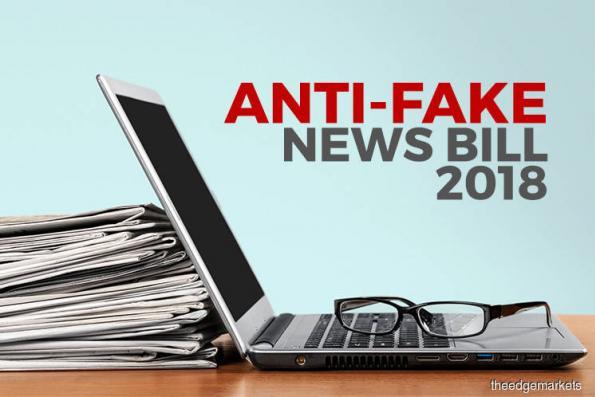 Dewan Negara passes Anti-Fake News Bill