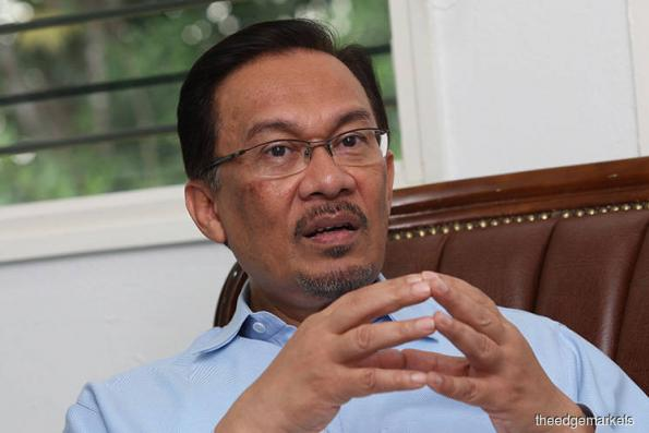 Daim was correct — government should stop blame game, says Anwar Ibrahim
