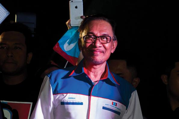 Anwar gives assurance his wife will step down as DPM when he becomes PM