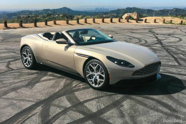 Cars: Raising the roof on the Aston Martin convertible