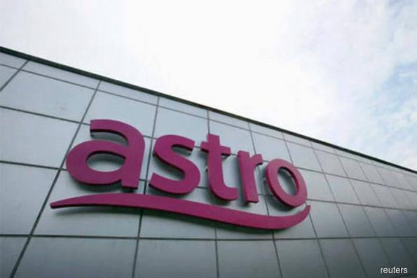 Astro active, up 6.98% on dividend, upgrade