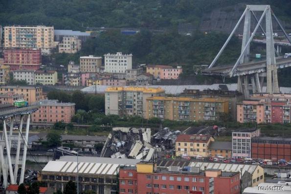 Genoa bridge disaster sharpens focus on Benetton strategy shift