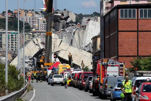 Reuters Analysis: Italy bridge collapse: The financial facts behind the fury