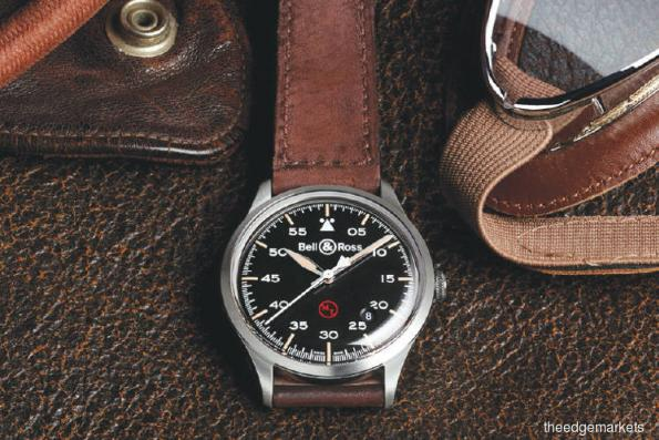 Aviation-inspired watches