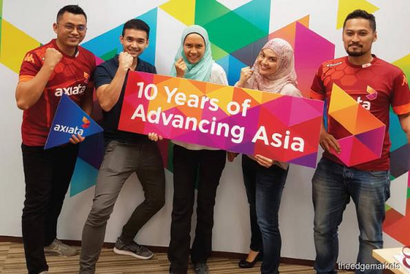 Axiata ready for the challenge