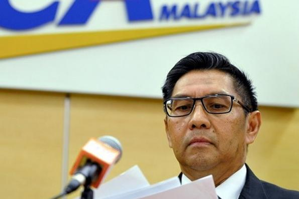 Civil Aviation Authority chairman resigns upon revelation of MH370 report