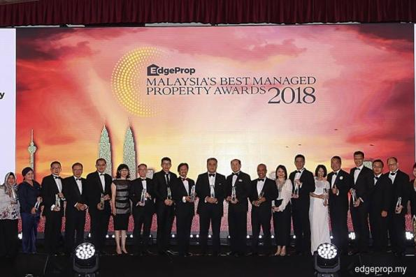EdgeProp Malaysia's Best Managed Property Awards 2018 winners