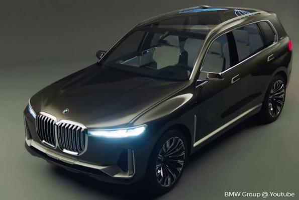 BMW unveils new concept car that offers a glimpse of its vision of modern luxury
