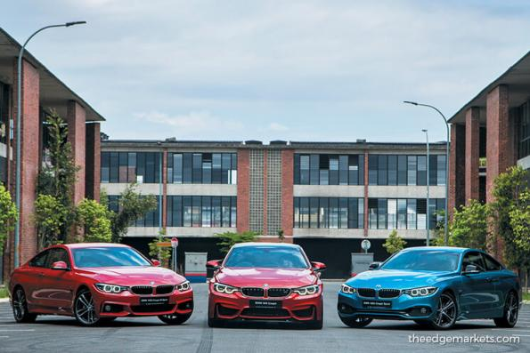 New BMW 4 Series and M4 coupés launched