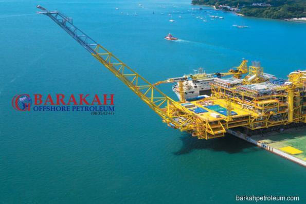 Barakah active, jumps 18.2% after unit wins Petrofac contract