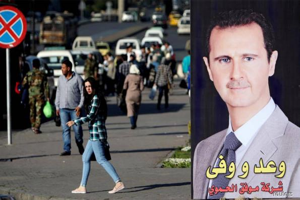 For buoyant Assad, Syrian war enters tricky phase