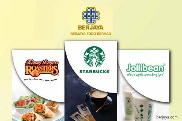 Berjaya Food 2Q net profit lifted by improved Starbucks ops, lower Kenny Rogers Roasters losses