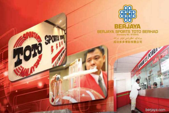 Maybank Kim Eng upgrades Berjaya Sports Toto to buy; price target RM2.65