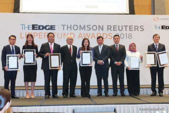2018 The Edge Thomson Reuters Lipper Fund Awards: Public Mutual, Eastspring big winners