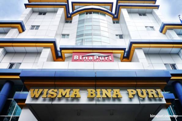 Bina Puri up 2.82%, breaches 36 sen hurdle