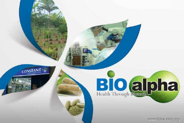 Herbal park to generate revenue for Bioalpha from 2020