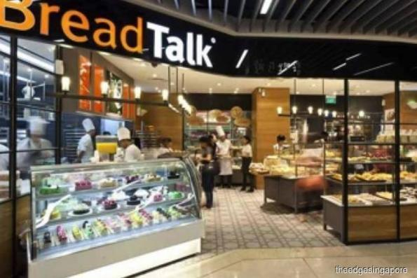 BreadTalk 1Q earnings fall 89.1% to S$1.2 mil on absence of one-off gain