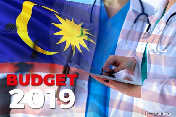 BUDGET 2019: RM20 mil allocated to the Malaysia Healthcare Tourism Council (MHTC) to team up with leading private hospitals, to boost Malaysia's image as a health tourism destination