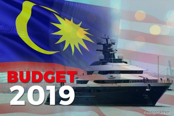 Budget : Government to start receiving international bids for superyacht Equanimity within one month from Nov 5, 2018